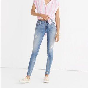 "Madewell Jeans 9"" High-rise Skinny"